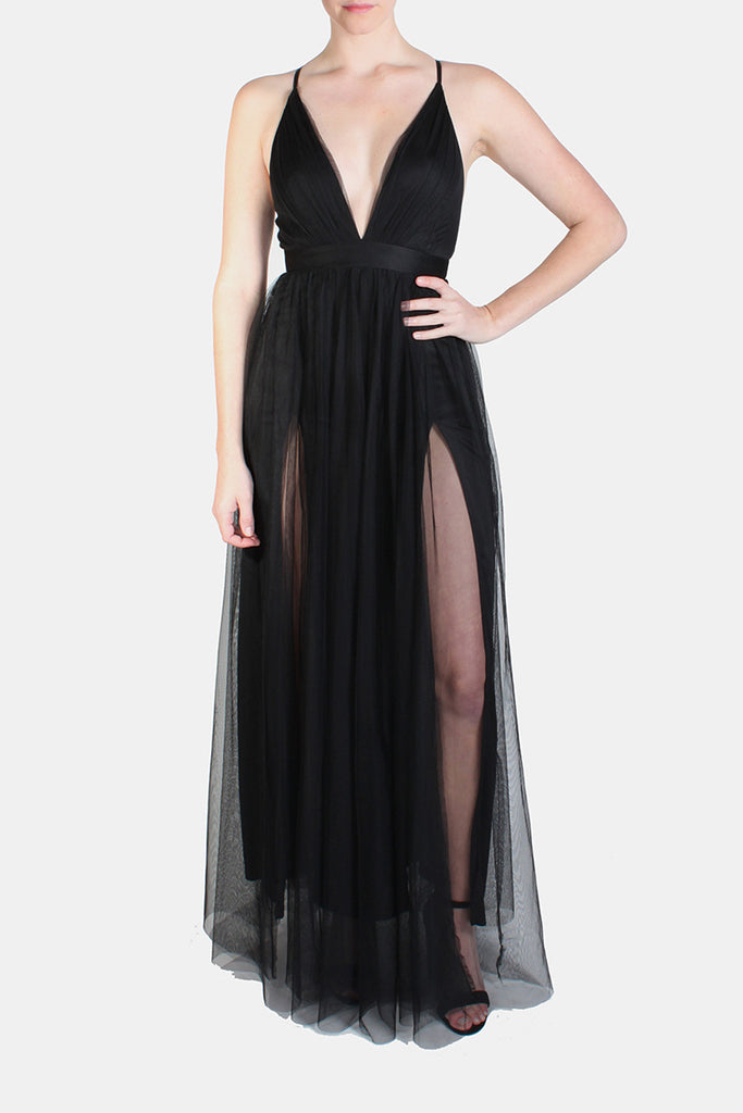 Enchantress Gown in Black