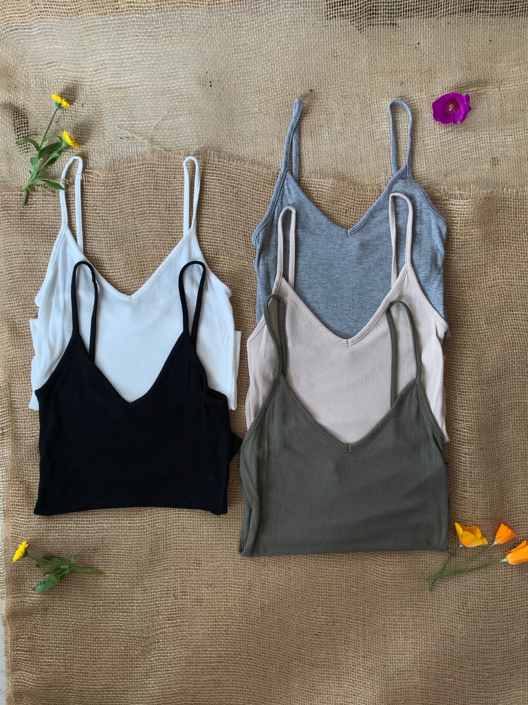 Softest Camisole Tank USA MADE 5 Colors