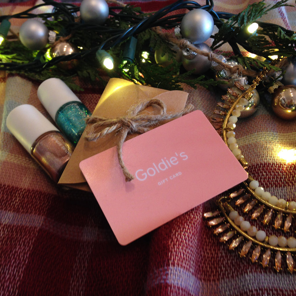 Goldie's In-Store Gift Card