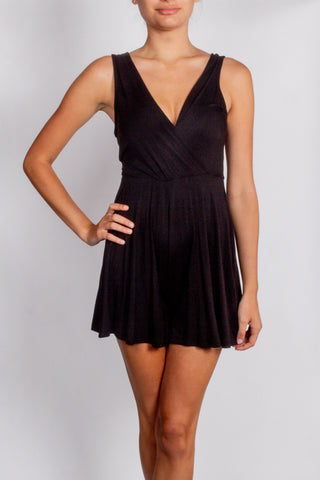 Stevie Knit Tank Black