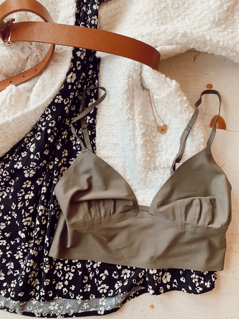 Ready to Wear Olive Bralette