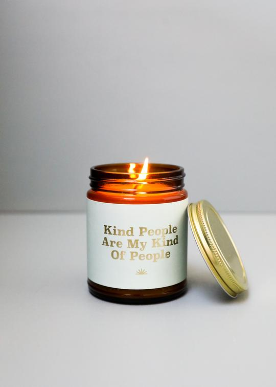 Mantra Candle - Kind People
