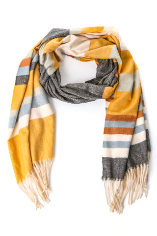 Sand Dunes Soft Neutral Layering Scarf