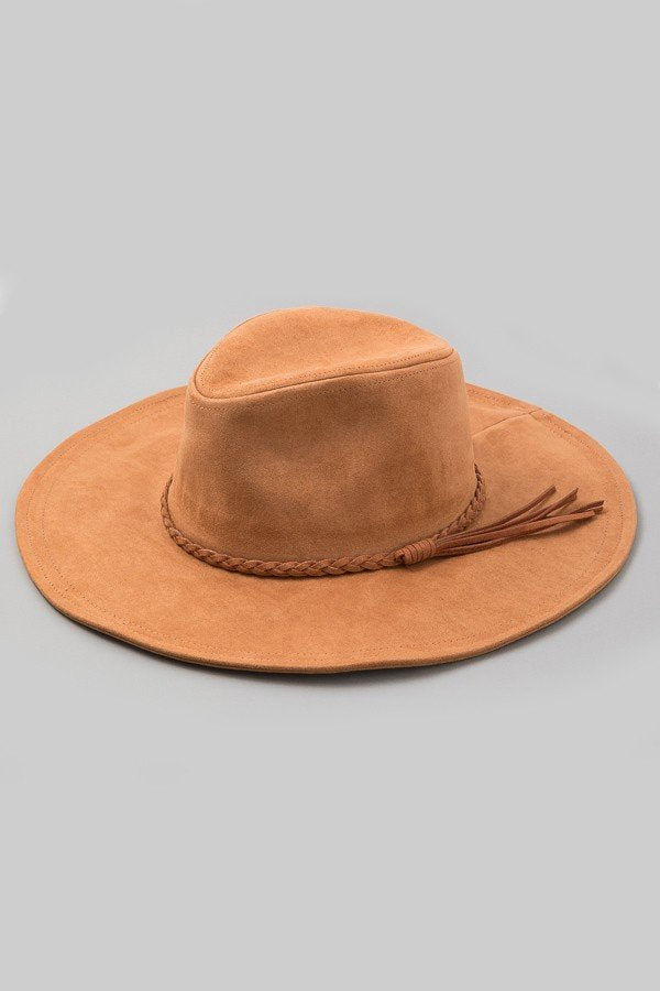 Joshua Tree (Vegan) Suede Hat In Brown