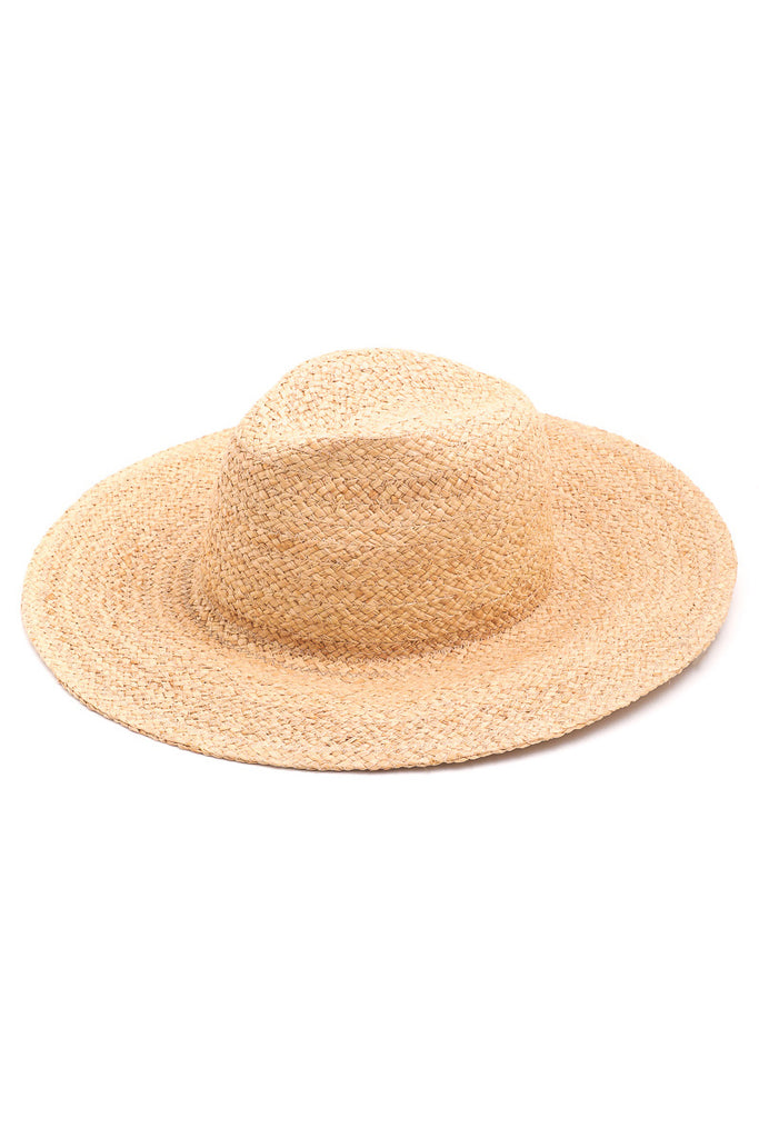 Ariana Straw Hat in Light Natural Color