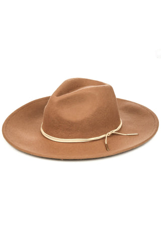 Editorial Straw Hat in Natural