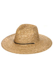 Beachcomber Classic Straw Sun Hat With Rope Detailing