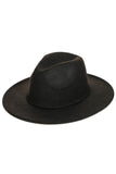 Walk The Line Rope Detail Hat In Black