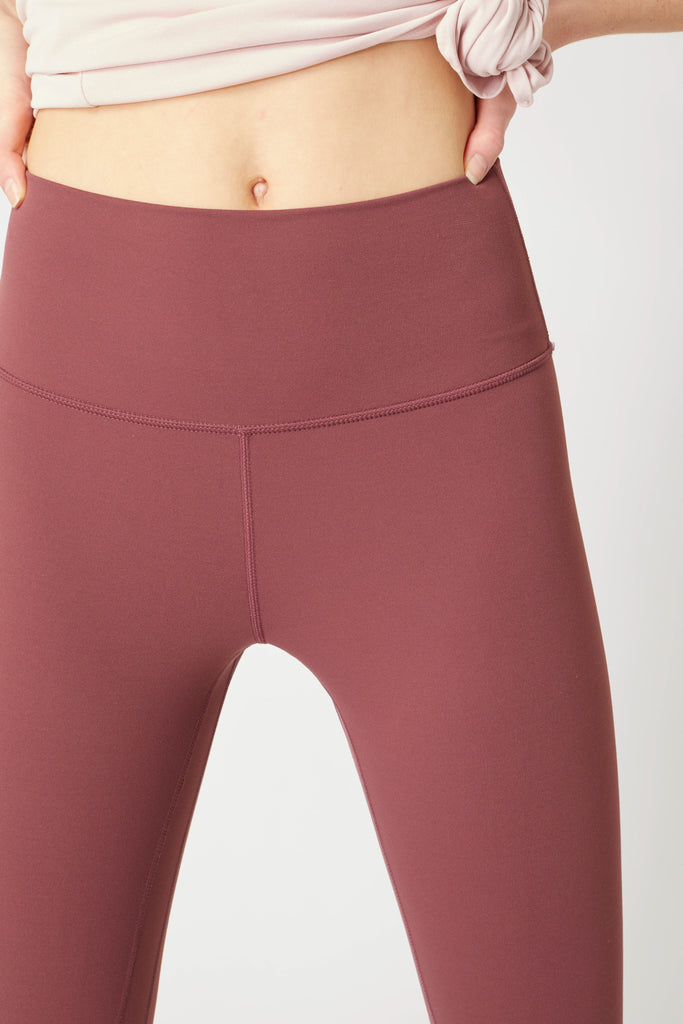 Soft and Smooth High Waisted Legging Available In Charcoal & Maroon