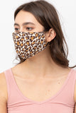 Perfect Fit Triple Layer Face Mask (Animal Print)