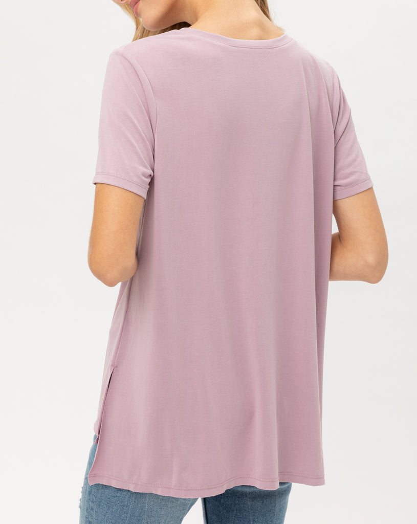 Lived In Soft Scoop Tee (4 Colors Avail)