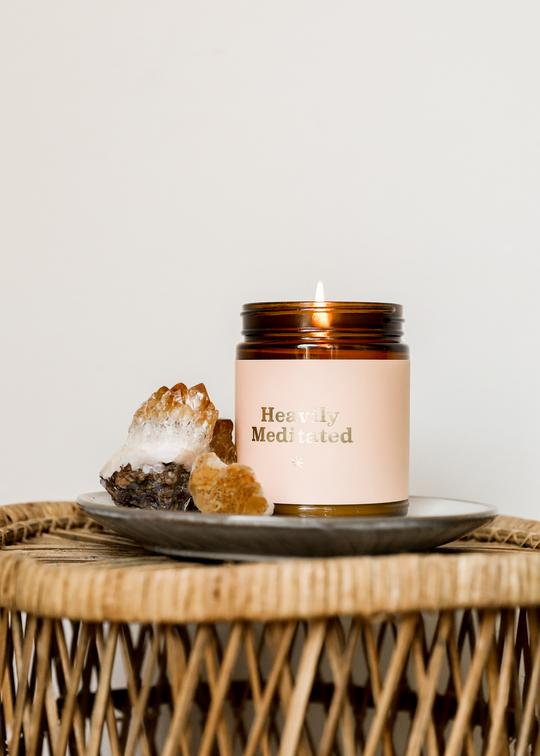 Mantra Candle - Heavily Meditated