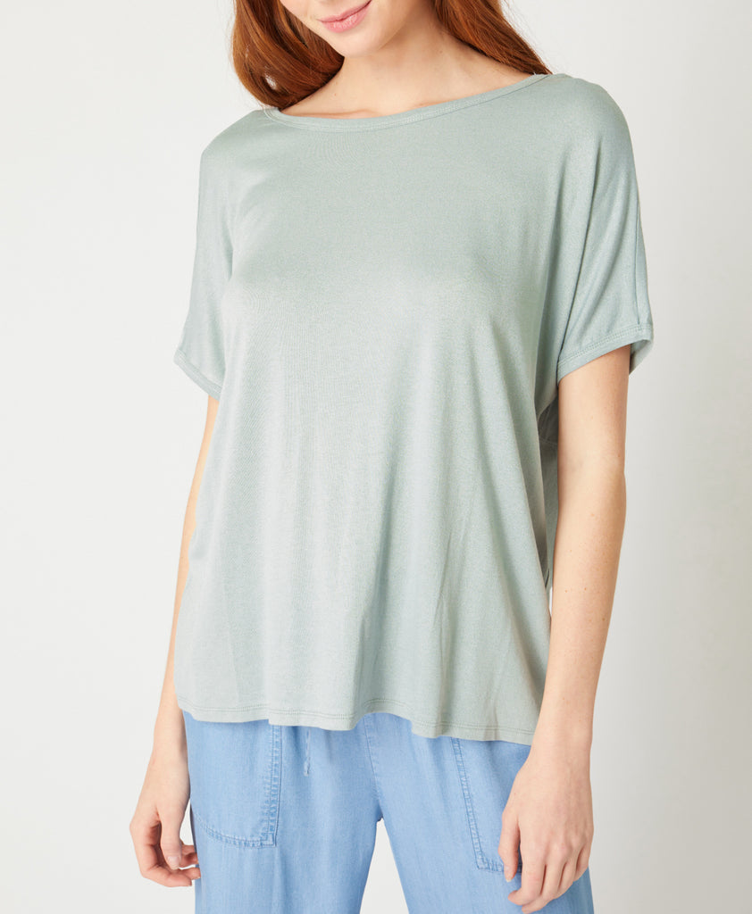 The Rochelle Twist Back Tee (4 Colors Available)