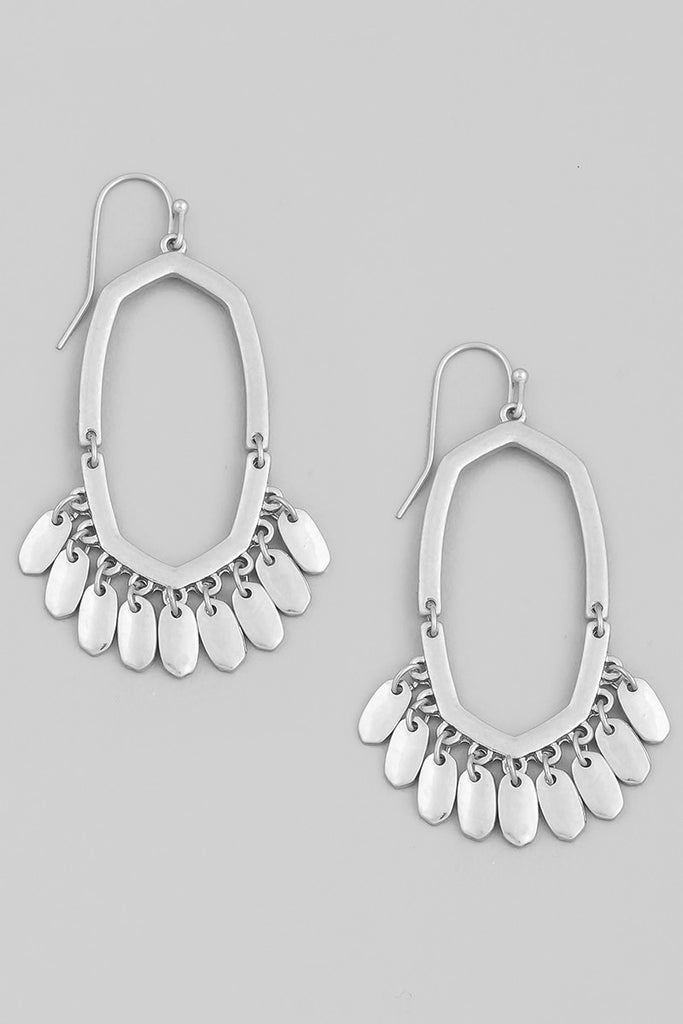 Perfect Chandelier Drop Earring In Silver