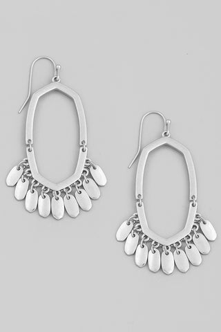 Isabelle Golden Hoop Earring With Beaded Detailing