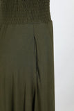 Meet Me At The Cafe Perfect Maxi Skirt w Pockets! 3 Colors Olive, Black, Berry