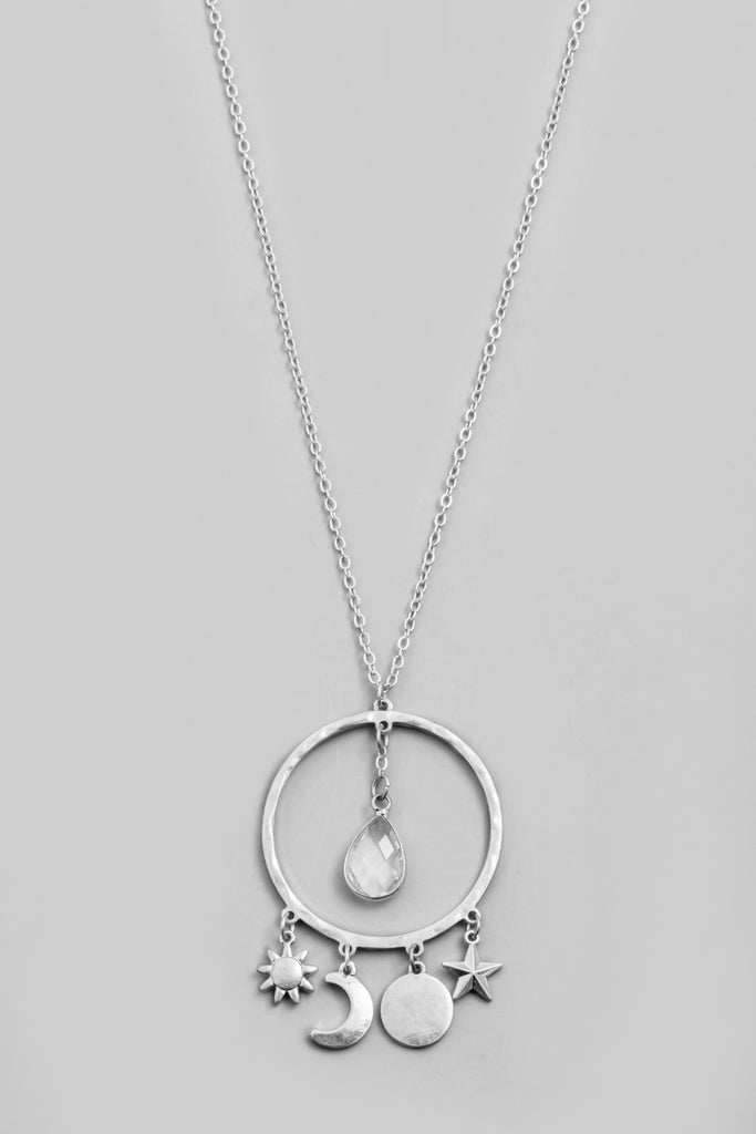 Celestial Necklace In Silver