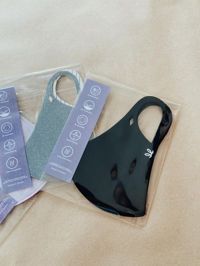 Do Your Part Comfortable Face Mask 3 Pack (Black, Grey, Lavender)