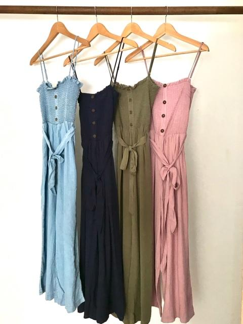 Feeling Free Jumpsuit 4 Colors Avail
