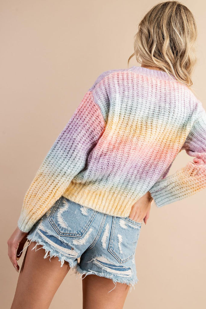 Rainbow Days Soft Sweater