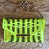 Dance Party Neo Clutch In Limelight