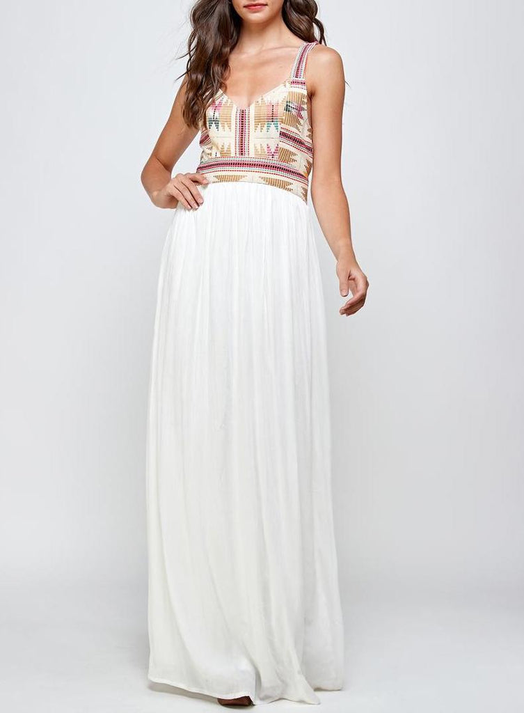 Make An Entrance Boho Glamour Maxi Gown