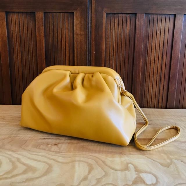 Street Snap Slouchy Chic Shoulder Bag In Sunshine Yellow