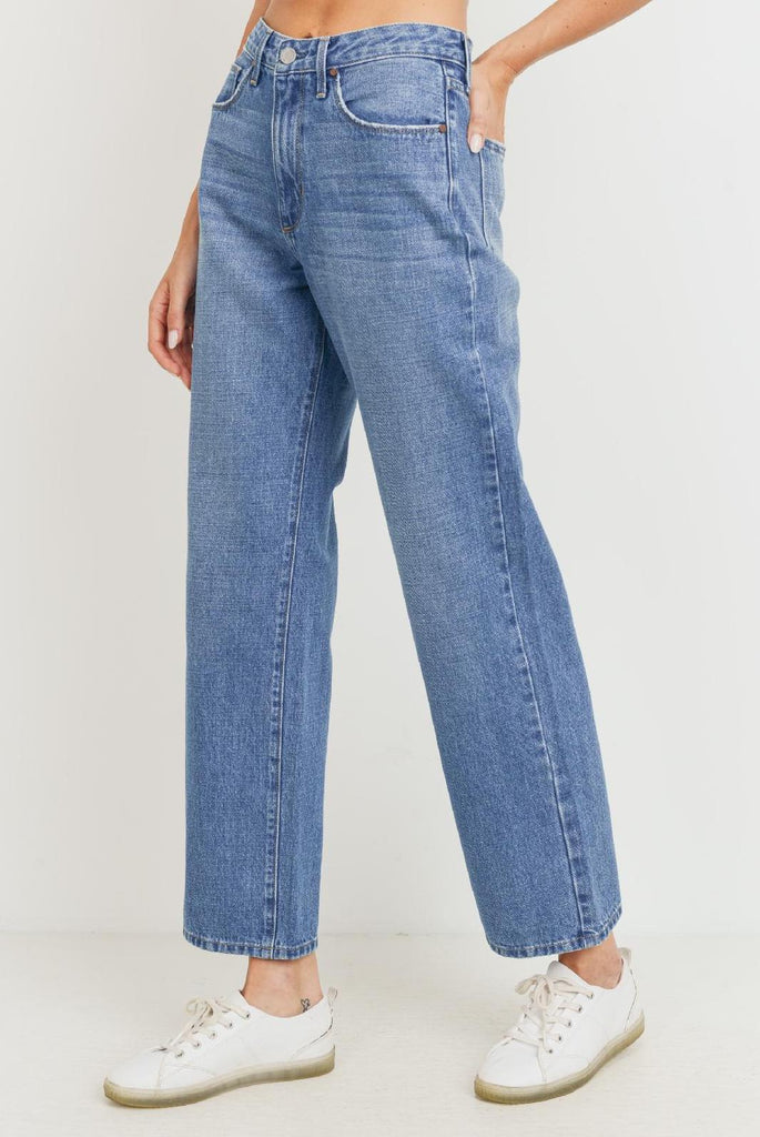 Dad Jean (USA MADE) Ultra High Waist 100% Rad.