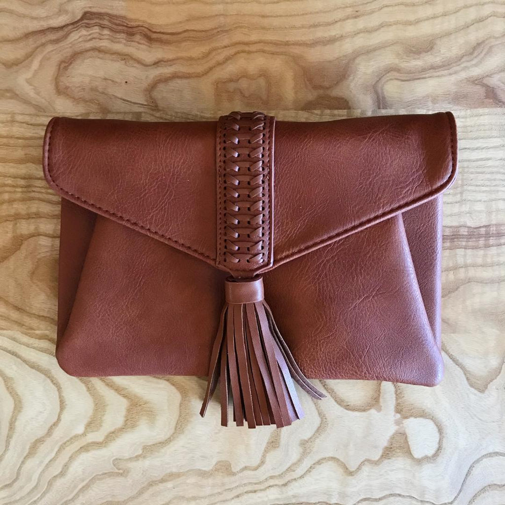 Days Gone By Vintage Inspired Tassel Clutch/Shoulder Bag