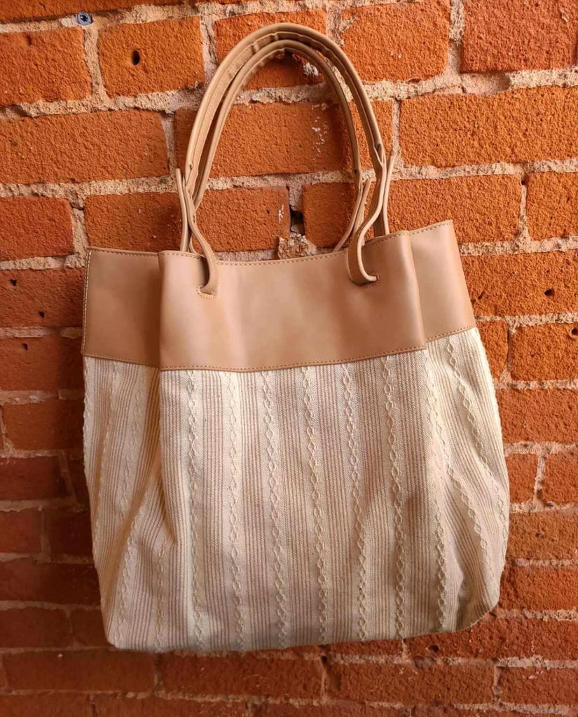 Joslyn Tote In Soft Taupe