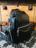 Outfit Envy Slouchy Chic Black Backpack