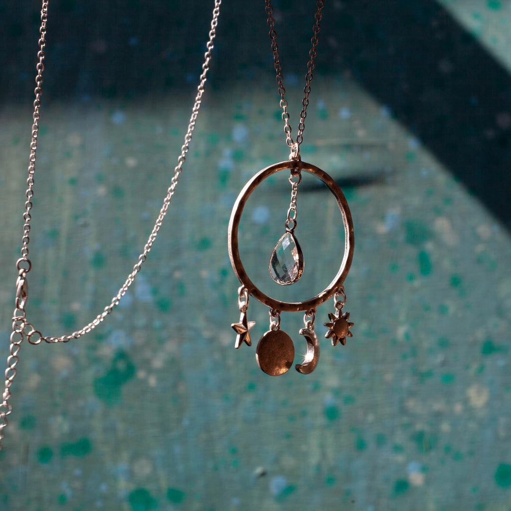 Celestial Necklace In Gold