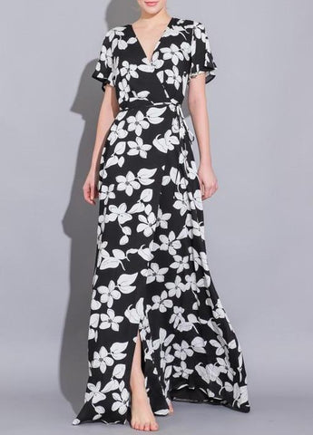 Whimsical Flower Fields Off Shoulder Dress
