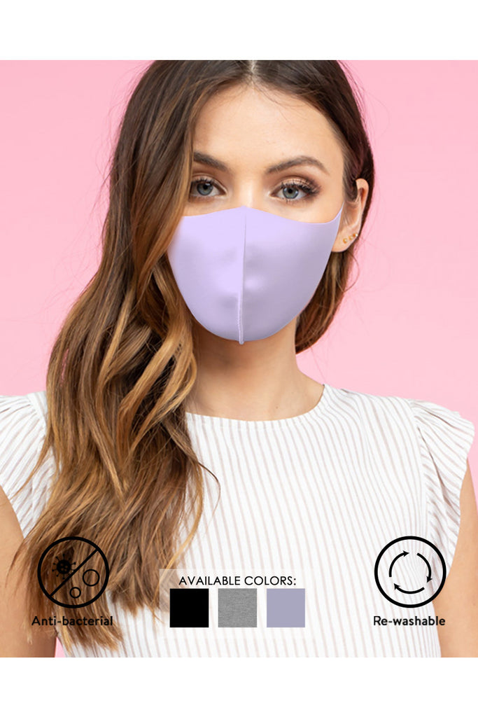Do Your Part Comfortable Face Mask 3 Pack In Soft Lavender