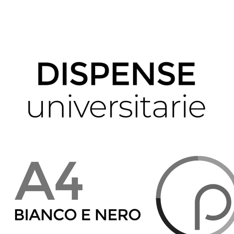 Stampa Dispense Universitarie