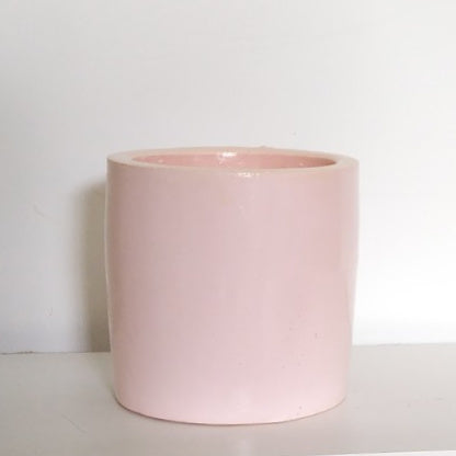 'Basic Cylinder' (pink) - PLANTER ONLY