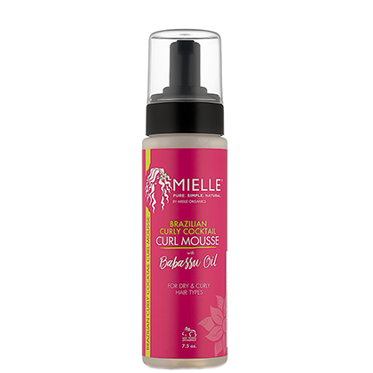 Mousse pour boucles - Brazilian curly cocktail - Mielle Organics