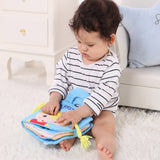 Infant Education Cartoon Soft Activity Cloth Book