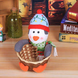 🎄Christmas candy handmade storage basket woven bamboo.30% OFF