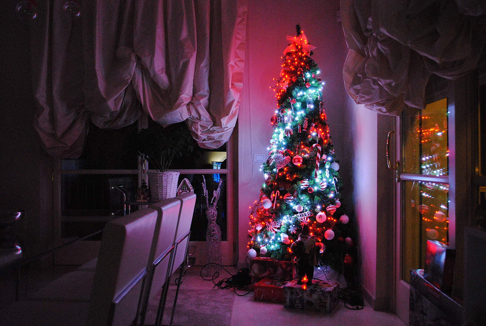 Custom LED string lights(It is recommended that you buy 400 lamps to decorate the tree more abundantly.)