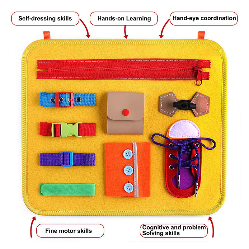 Busy Board Montessori Educational Toys For Kids