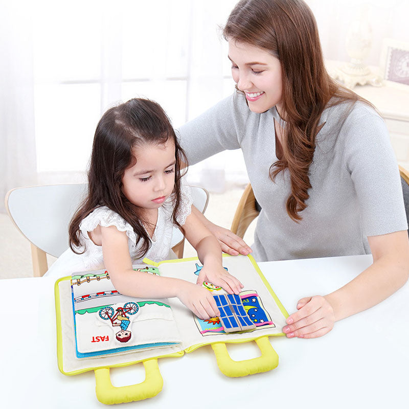 Montessori Activity Quiet Book 🔥New In 2020🔥