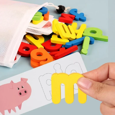 Letter Recognition Word Spelling Toy