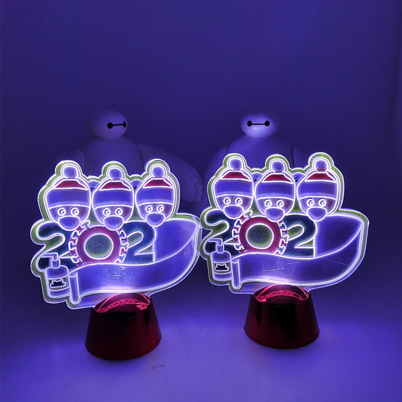 LED Christmas Decoration Desktop Ornaments