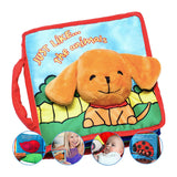 Kids 3D Animal Puppy Activity Cloth Book