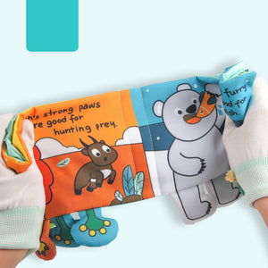 Early Education Soft Activity Baby Book - Whose Feet?