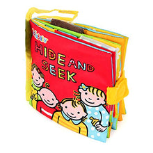 Load image into Gallery viewer, Peek-a-boo Quiet Soft Cloth Book Montessori 3D Sound Book