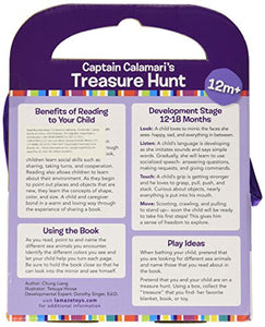 Captain Calamari's Treasure Hunt Soft Cloth Book