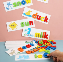 Load image into Gallery viewer, Letter Recognition Word Spelling Toy