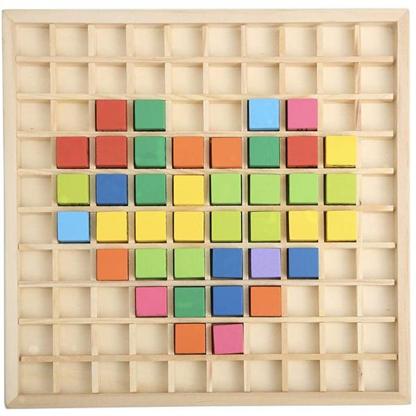 Montessori Wooden Multiplication Math Table Board Game